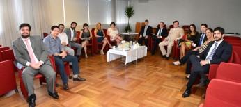 Diretoria da APESP realiza nova reunião mensal