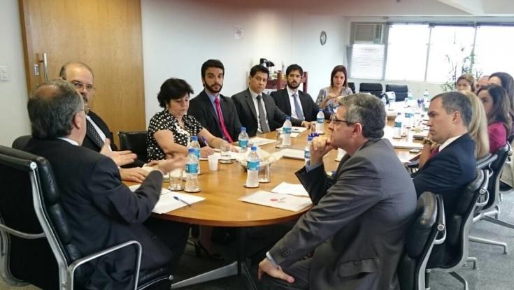 Diretoria da APESP reúne-se com o Procurador Geral