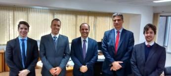 APESP reúne-se com equipe da  Subprocuradoria do Contencioso Geral