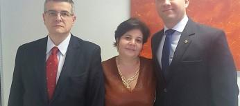 Presidente da APADEP visita a APESP