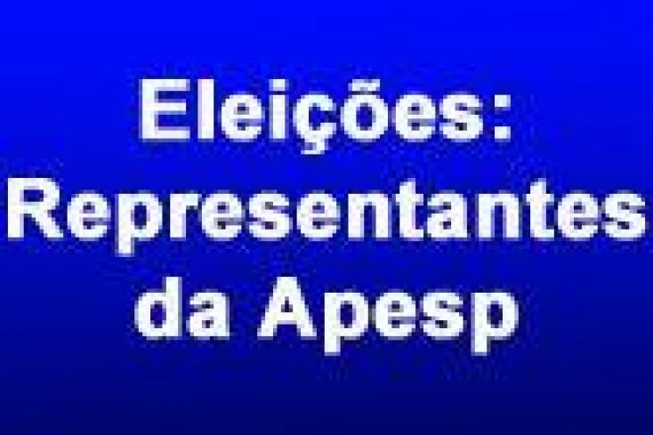 Em 18/06, novos representantes  da Apesp serão empossados